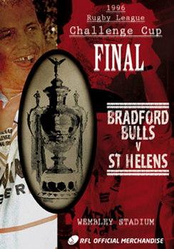 1996 Challenge Cup Final - St Helens 40 Bradford Bulls 32 (DVD)