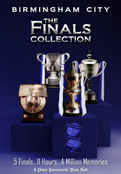 Birmingham City - The Finals Collection (5 Disc Box Set) (DVD)
