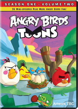 Angry Birds Toons - Season 1  Vol. 2 (DVD)