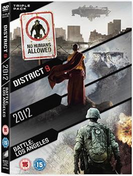 2012 / Battle: Los Angeles / District 9 (DVD)