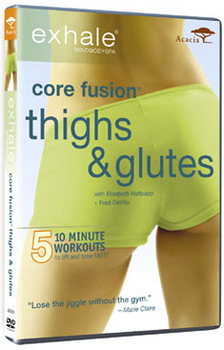 Exhale Core Fusion - Thighs And Glutes (DVD)