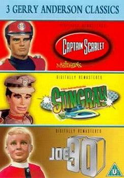 3 Jerry Anderson Classics - Supermarionation - Joe 90 / Captain Scarlet / Stingray (Three Discs) (DVD)