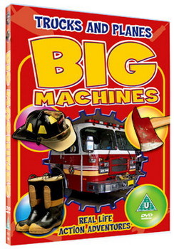 Big Machines 2 - Trucks And Planes (DVD)