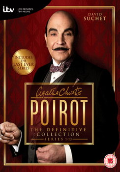 Poirot Complete Series 1-13 Collection (DVD)