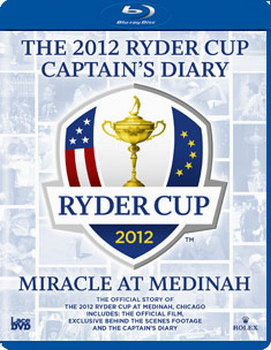 Ryder Cup 2012 Diary And Official Film (Blu-Ray)