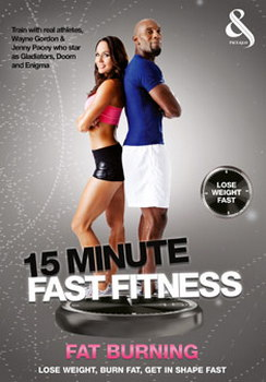 15 Minute Fast Fitness With Jenny Pacey And Wayne Gordon - Fat Burn (DVD)