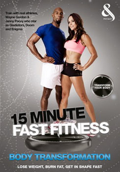 15 Minute Fast Fitness With Jenny Pacey And Wayne Gordon - Body Transformation (DVD)