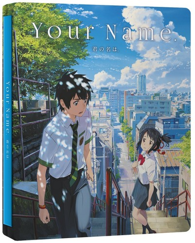 Your Name Collector's Edition Steelbook (Blu-ray + DVD+CD)