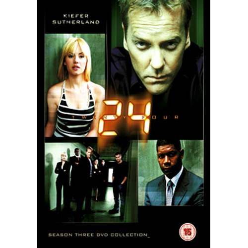 24 (Twenty Four) Season 3 (DVD)