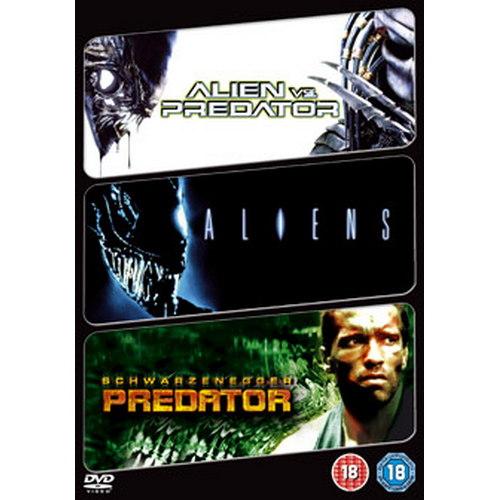 Aliens / Alien Vs Predator / Predator (DVD)