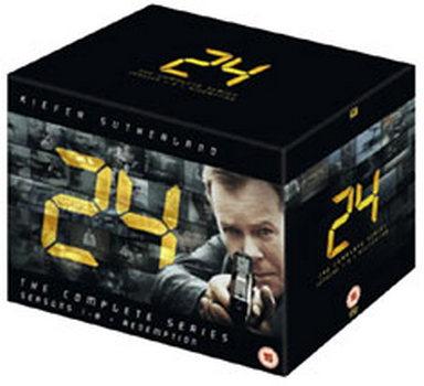 24 Season 1-8 Complete (DVD)