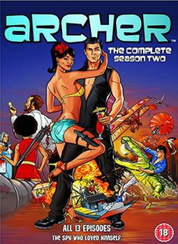 Archer - Season 2 (DVD)