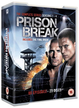 Prison Break - Series 1-4 - Complete (DVD)
