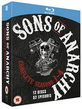 Sons Of Anarchy - Season 1 To 4 (BLU-RAY)