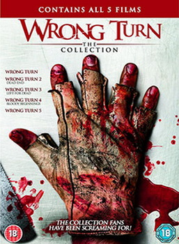 Wrong Turn 1-5 Boxset (DVD)