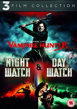 Abraham Lincoln Vampire Hunter / Night Watch / Day Watch Triple Pack (DVD)