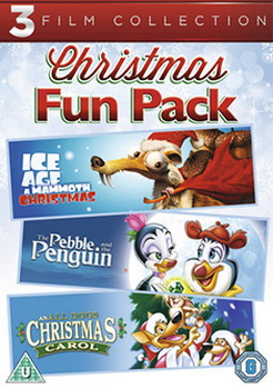 All Dogs Christmas Carol/The Pebble And The Penguin/Ice Age : A Mommoth Christmas (DVD)