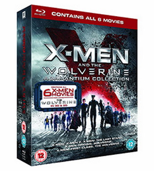 X Men And The Wolverine Adamantium Collection (BLU-RAY)