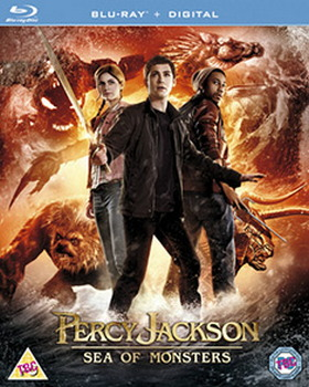 Percy Jackson: Sea of Monsters (Blu-ray + UV Copy)