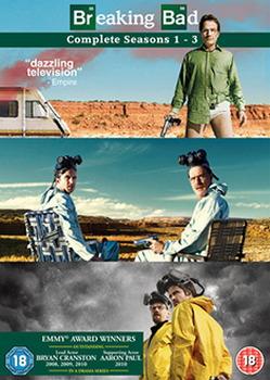 Breaking Bad - Season 1-3 (DVD)
