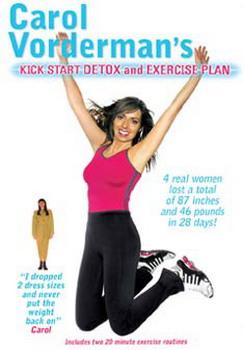 Carol Vorderman - Kick Start Detox And Exersise Plan (DVD)