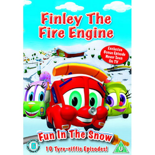 Finley The Fire Engine Vol.2 - Fun In The Snow (DVD)