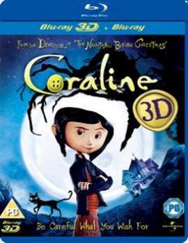 Coraline - (Blu-Ray 3D)