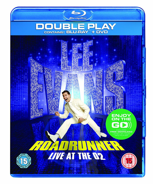 Lee Evans - Roadrunner - Live At The O2 (BLU-RAY)