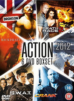 2012 (2009) & Backdraft & Bronson & Crank & Death Race 2 & S W A T  (DVD)