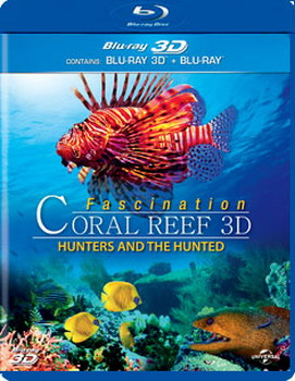 Fascination Coral Reef 3D - Hunters And The Hunted (BLU-RAY)