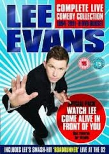 Lee Evans Complete Live Collection 1994-2011 (DVD)