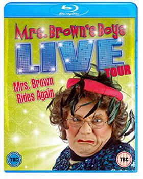 Mrs Brown Rides Again - Live Tour (BLU-RAY)
