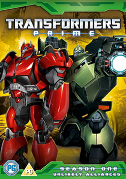 Transformers Prime - Unlikely Alliances -Series 1 - Volume 4 (DVD)