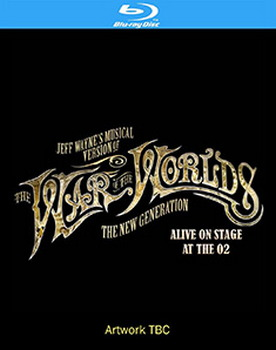 Jeff Waynes Musical Version Of The War Of The Worlds - The New Generation Alive On Stage (BLU-RAY)