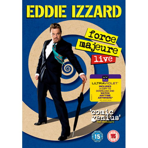 Eddie Izzard - Force Majeure Live (DVD)