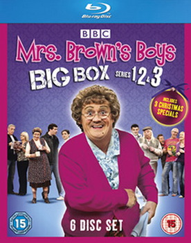 Mrs Brown's Boys - Big Box Series 1-3 (Blu-Ray)