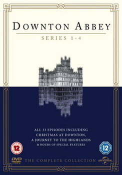 Downton Abbey - Series 1 To 4  (DVD)