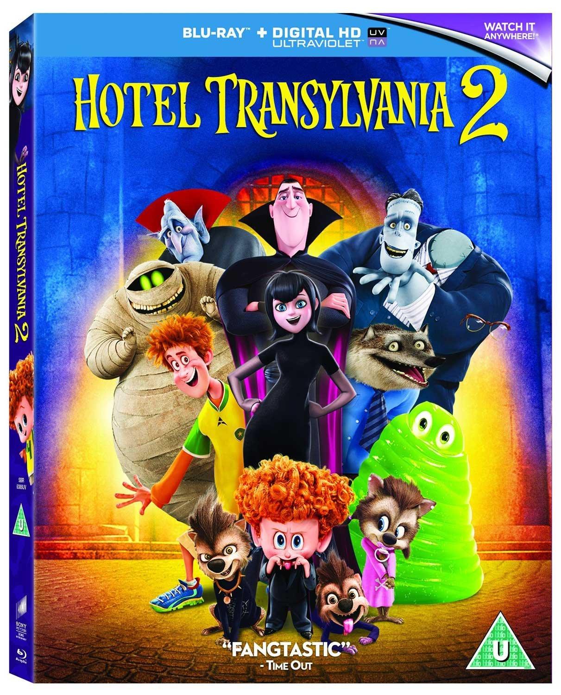 Hotel Transylvania 2 (Blu-Ray) (DVD)