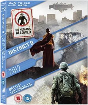 2012 / Battle: Los Angeles / District 9 (Blu-ray)