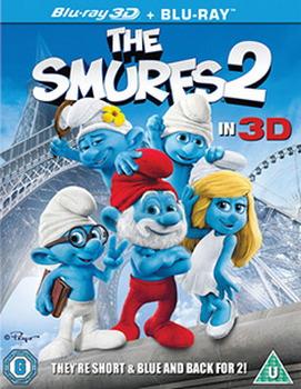 The Smurfs 2 (Blu-ray 3D + Blu-ray + UV Copy)