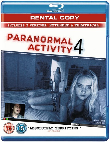 Paranormal Activity 4: Extended Edition (BLU-RAY)