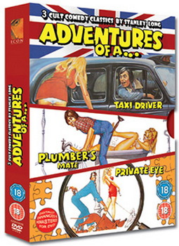 Adventures Of A Plumbers Mate/Private Eye/Taxi Driver (DVD)