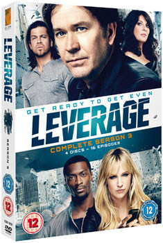 Leverage - Series 3 - Complete (DVD)