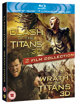 Clash of the Titans/Wrath of the Titans - Double Pack (3D Blu-Ray)