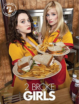 2 Broke Girls: Season 2 (DVD)