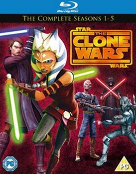 Stars Wars Clone Wars Season 1 - 5 (Blu-Ray)