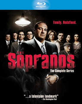 The Sopranos - HBO Complete Season 1-6 (Blu-ray)