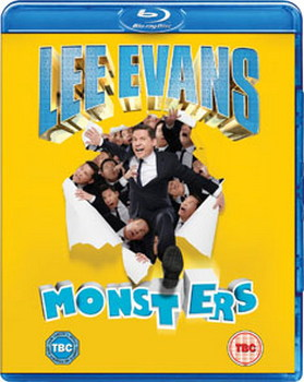 Lee Evans - Monsters Live (Blu-ray)