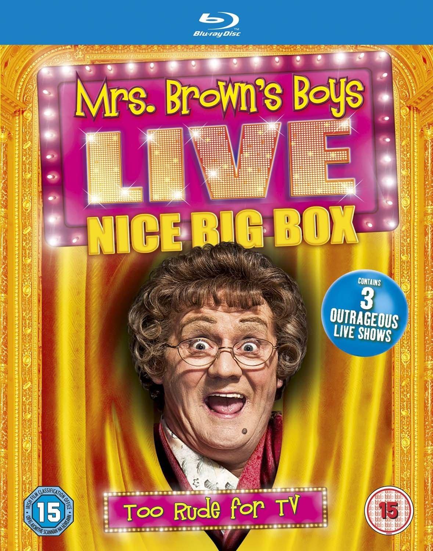 Mrs. Brown's Boys Live - Nice Big Box [Blu-ray]