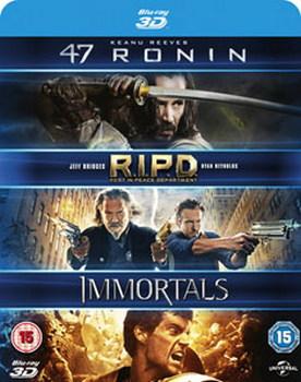 47 Ronin/RIPD/Immortals (Blu-ray 3D)